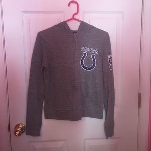 BNWOT Indianapolis Colts Zip-Up Hoodie